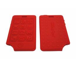 Jellystone Designs Bijtspeeltje Mobieltje Rood