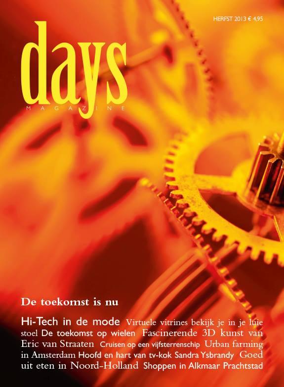 Days Magazine met ketting Jellystone Designs