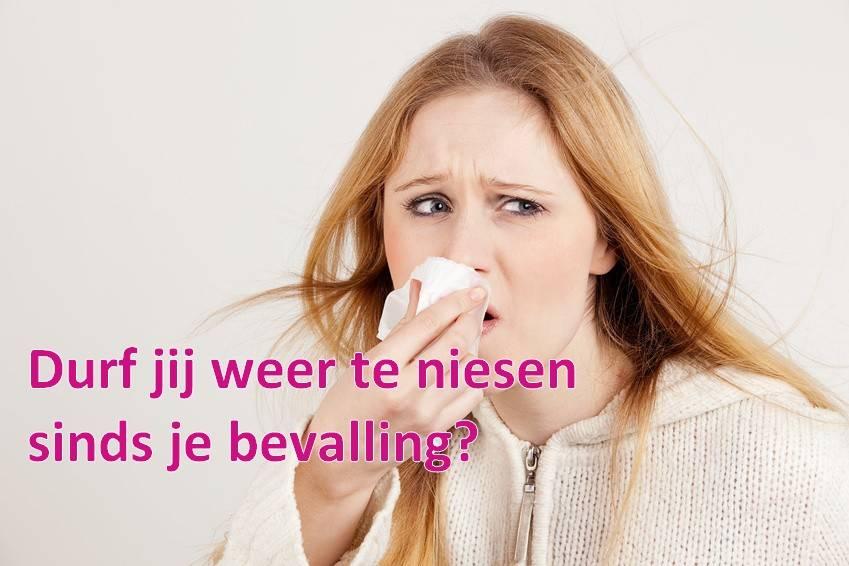 Durf jij weer te niesen sinds je bevalling?