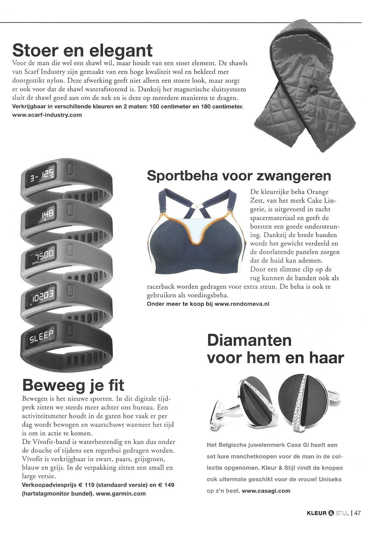 zwangerschapssportbeha in Vakblad Kleur en Stijl