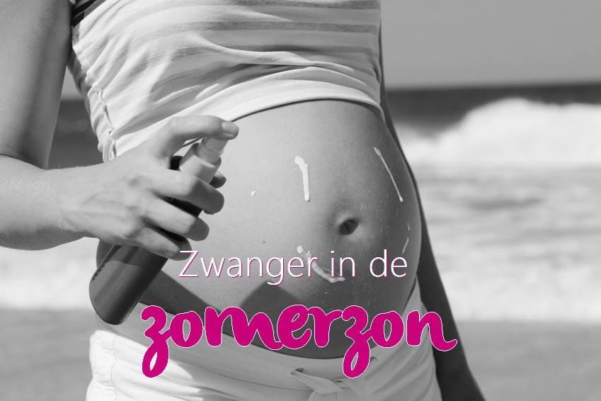 Zwanger in de zomerzon