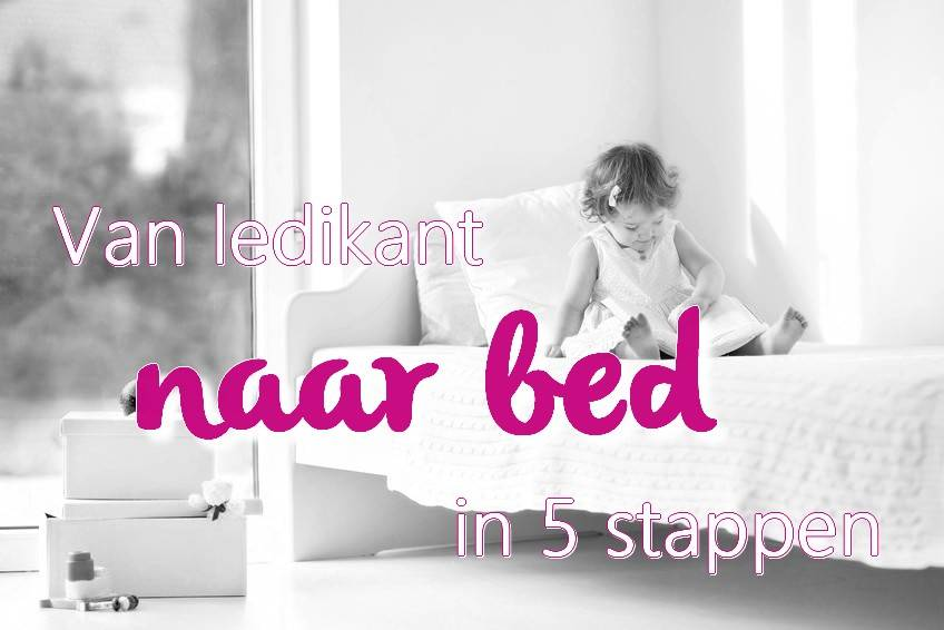 Van ledikant naar (stapel)bed in 5 stappen