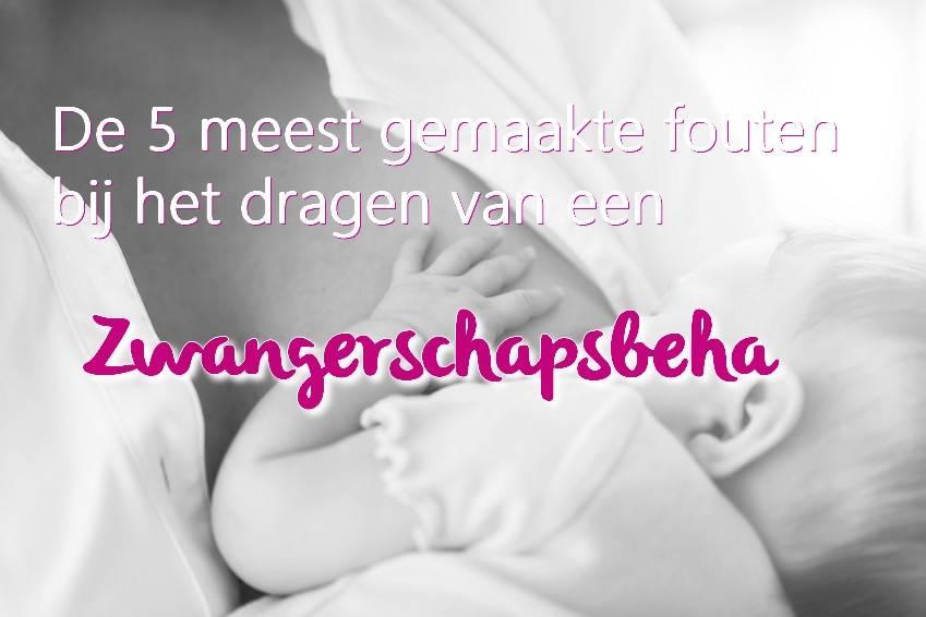 De 5 meest gemaakte fouten bij het dragen van een zwangerschapsbeha