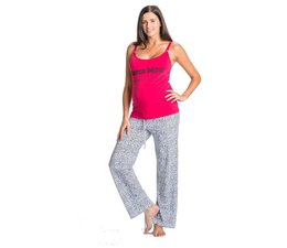 You!Lingerie Pyjama Super Mom Rood