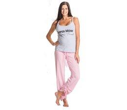 You!Lingerie Pyjama Super Mom Grijs
