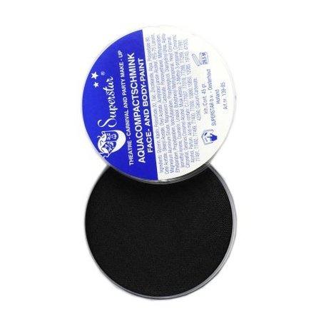 Superstar aquaschmink zwart 45gr nr.23