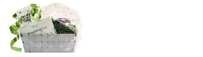 Theebloemen in het kerstpakket