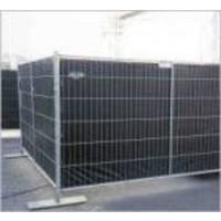 Brandvertragend bouwhekzeil PE 150 gr/m² NVO DIN4102-B1 - Zwart