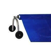 Insulating pool cover summer PE foam 6mm - Blue
