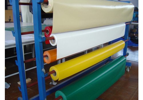 Pvc zeildoek 650 gr/m² NVO - 2,50m breed