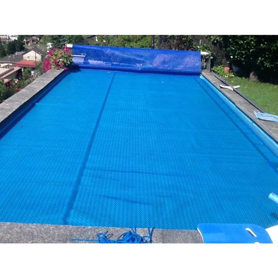 Zwembadzeil noppenfolie Blauw/Zilver 400 micron Geobubble