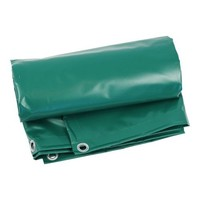 Heavy-duty groundsheet 5x8 PVC 600 gr/m² - Green