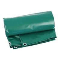 Heavy-duty grondzeil 5x5 PVC 600 gr/m² - Groen