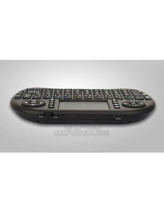 Riitek I8 mini drahtlose Tastatur + Multitouch / Flymouse