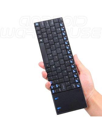 Riitek Rii Mini K12 Ultra Slim Tastatur mit Touchpad 2,4 GHz