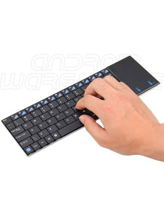 Riitek Rii Mini K12+ Ultra Slim Keyboard met Multi-Touchpad