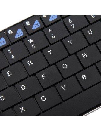 Riitek Rii Mini K12 Ultra Slim Keyboard met Touchpad 2.4GHz
