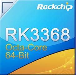 Rockchip RK3368 1,5 GHZ octacore