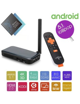 Ugoos UGOOS AM2 64-BIT AMLogic S905 2.0 GHz quad-core ANDROID TV BOX
