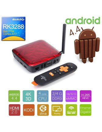Ugoos UGOOS UT3S ROCKCHIP RK3288 ANDROID TV BOX / ANDROIDBOX / MINI PC