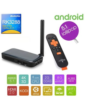 Ugoos UGOOS UM3 Rockchip RK3288 quad ANDROID-TV STICK / STICK ANDROID / MINI PC