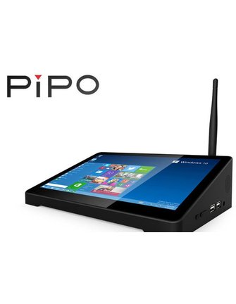 PiPo Pipo X10 10,8-Zoll-Touchscreen Intel Kirsch Trail Z8300 Windows-10-TV-Box