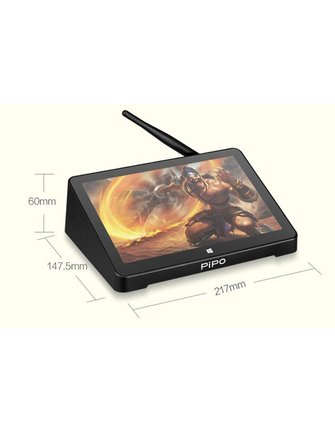 PiPo Pipo X9S Touchscreen Intel Z8300 Kirsch Trail Windows-TV-Box