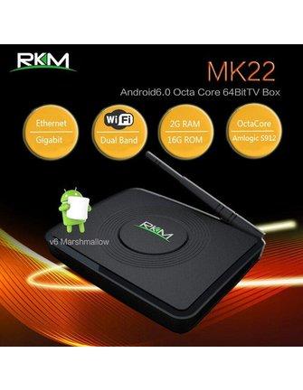 RKM / Rikomagic MK22 AMLOGIC S912 OCTACORE ANDROIDBOX
