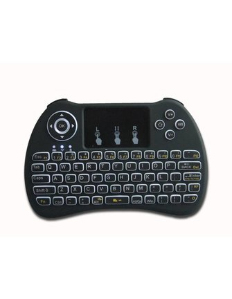iStreamer I8 Mini Wireless Keyboard + MultiTouch / Flymouse - Copy