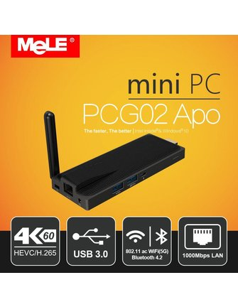 Mele Mele PCG02 APO Intel Celeron N3450 Windows TV Stick / Mini PC