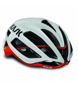 Kask Protone - Wit/Rood