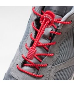 Lock Laces Rood