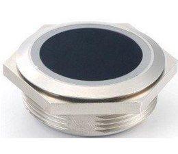 Infrarot kontaktloser Schalter rund 39 mm einbau mit zwei-farben LED Ring