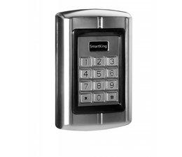 SmartKing™ Metal waterproof standalone for single door with PIN & RFID(EM) 12-18Vac or 12-24Vdc, 2000 users