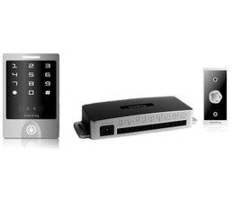 SmartKing™ Breed aanraakscherm,pin en EM en HID badge ,12_14 Vdc, deurbel en druknop