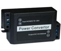SmartKing™ Power converter - input 16-28 V AC/DC, output 12VDC 500 mA