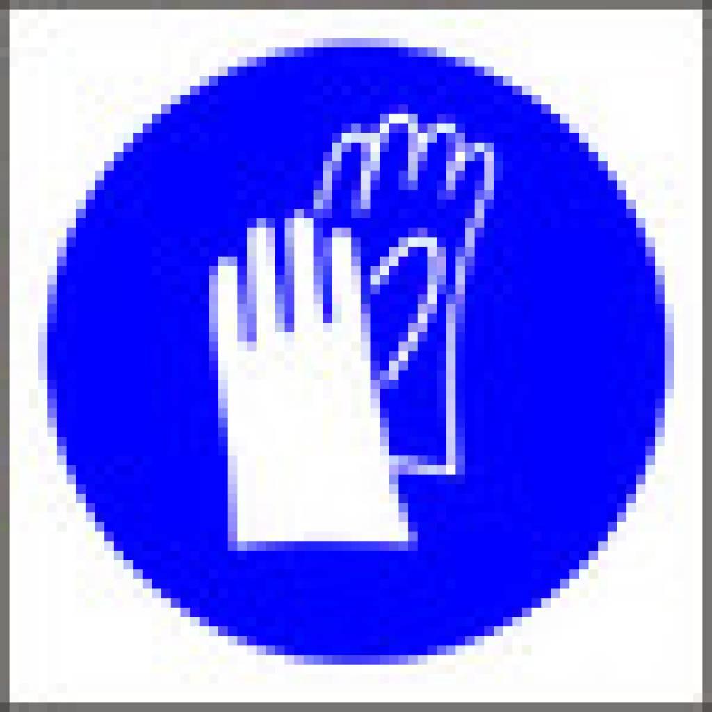 Wear Gloves Symbol Van Erp Safety Shop
