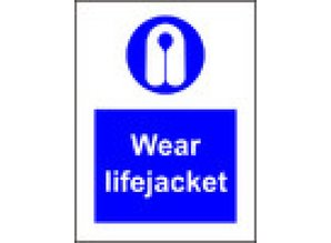 Wear lifejacket