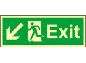 Exit Left, Down