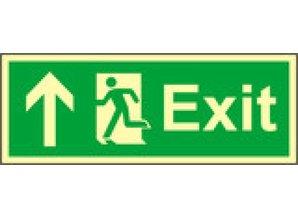 Exit up 150x400mm