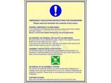 Emergency Evacuation Instruction For Passangers
