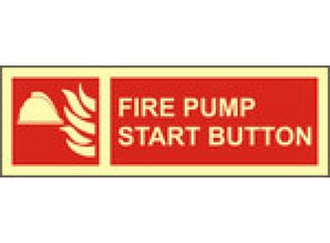 Fire Pump Start Button