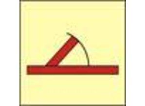 """""""A"""" class hinged fire door"""