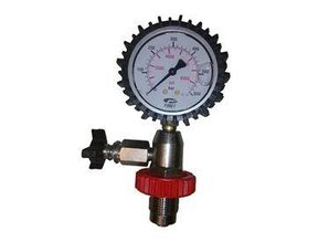 Test pressure gauge 300Bar Din