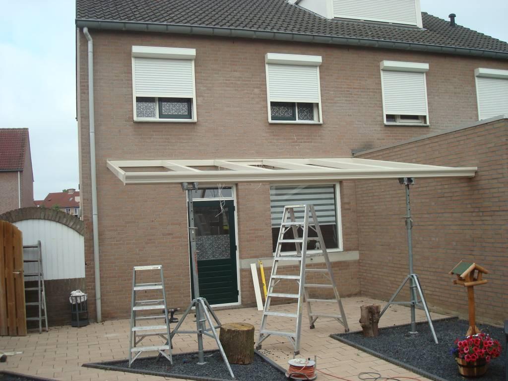 Venlo limburg overkapping veranda gemonteerd door a.g.a.terras