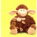 Anna Plush / WWF Plush Collection Schaap met baby