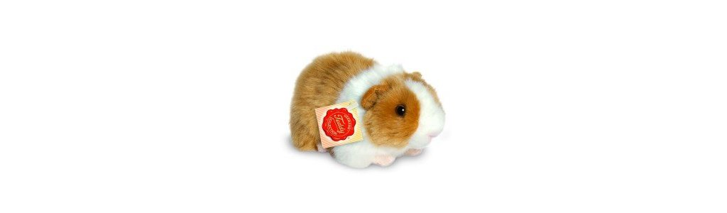 Hermann Teddy Cavia goud/wit