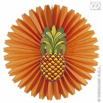 Hawaii decoratie papier ananas