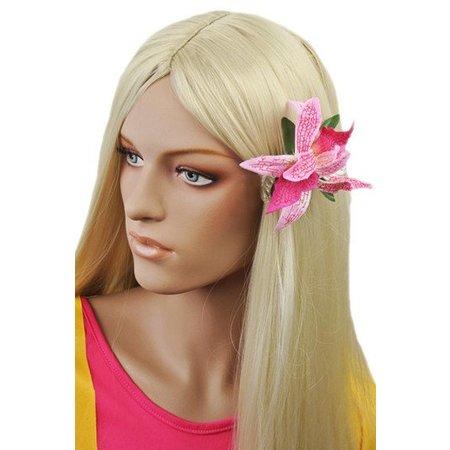 Hawaii haarbloem Lichtroze/Donkerroze
