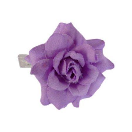 Haarbloem Roosje Lila